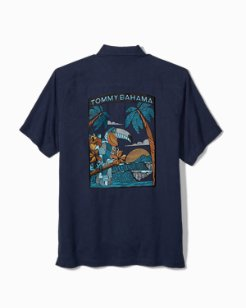 Big & Tall Toucan Tango Camp Shirt