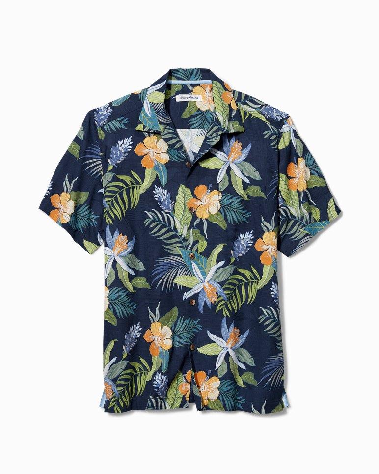 Main Image for Big & Tall Beach Crest Blooms IslandZone® Camp Shirt
