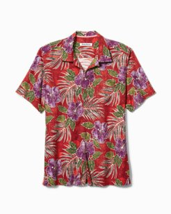 Big & Tall Hibiscus Cove Camp Shirt