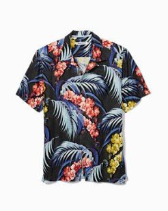 Big & Tall Hana Lei Fronds Camp Shirt