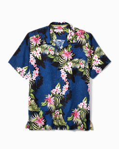 Big & Tall Shadow O' Lei Camp Shirt