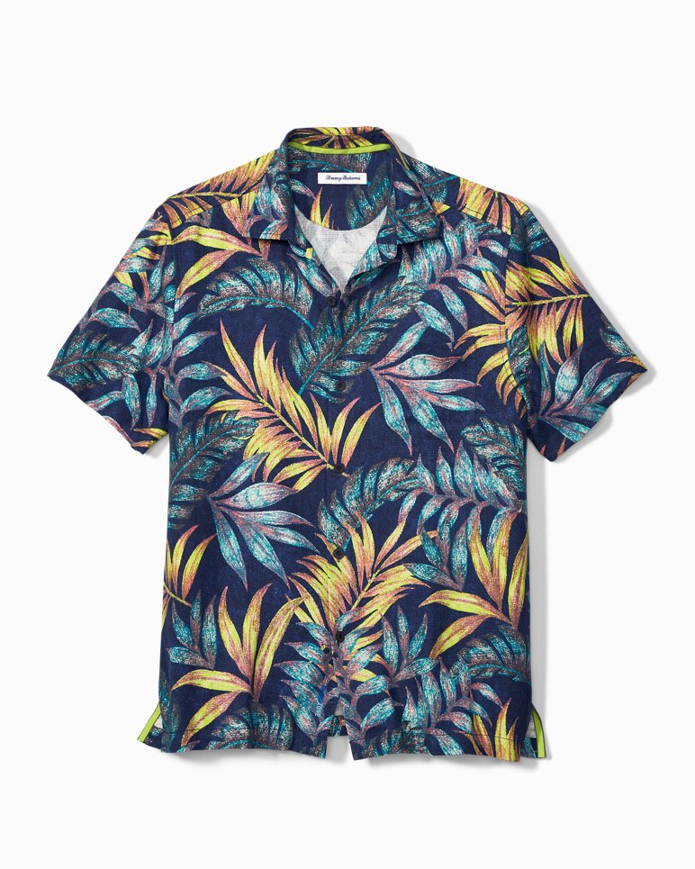 Main Image for Big & Tall Parque Palms IslandZone® Camp Shirt