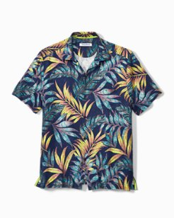 Big & Tall Parque Palms IslandZone® Camp Shirt
