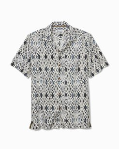 Big & Tall Diamond Tide Camp Shirt