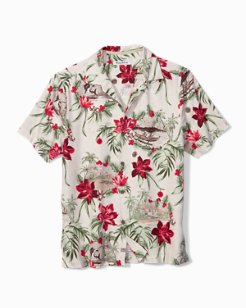 Big & Tall Honolulu Holiday Camp Shirt