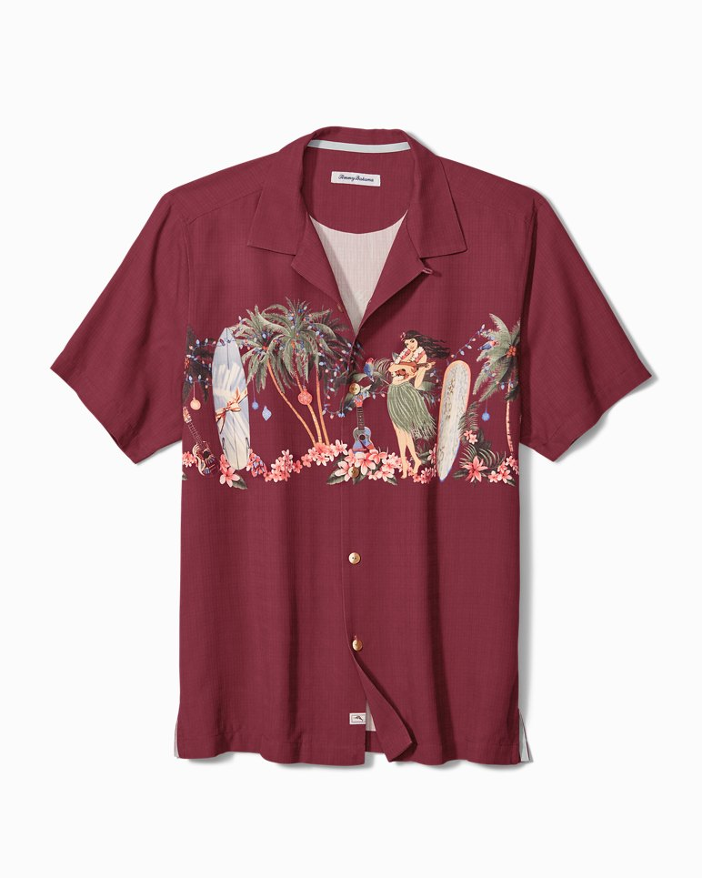 Main Image for Big & Tall Mele Kalikimaka Camp Shirt