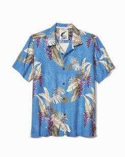 Big & Tall Kailua Fronds Camp Shirt