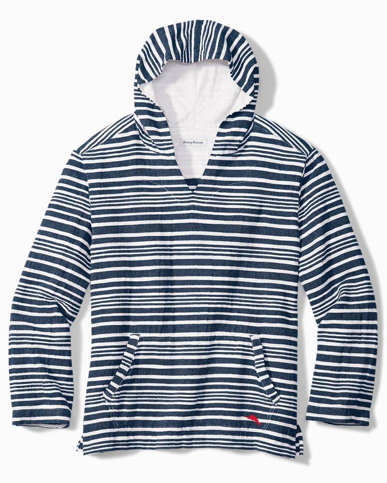 Main Image for Big & Tall Blue Wave Baja Hooded Shirt