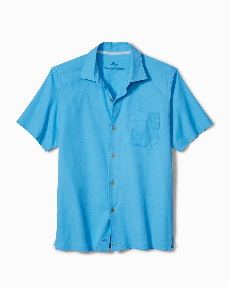 Main Image for Big & Tall Catalina Twill Stretch Camp Shirt