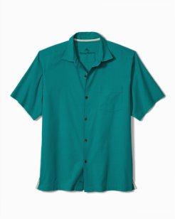Big & Tall Catalina Twill Stretch Camp Shirt