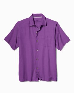 Big & Tall Catalina Twill Stretch Camp Shirt