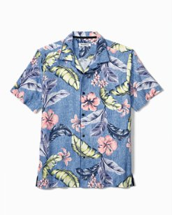 Big & Tall Maeva Beach IslandZone® Camp Shirt