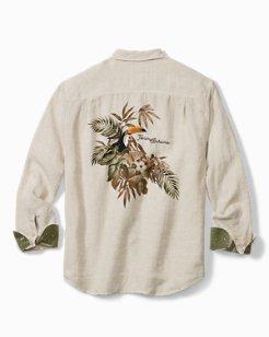 Big & Tall Toucan Escape Long-Sleeve Shirt
