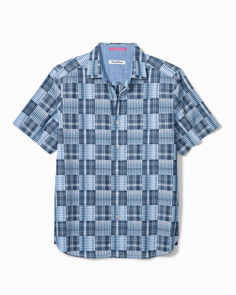 Main Image for Big & Tall Patchwork in Paradise Camp Shirt