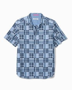 Big & Tall Patchwork in Paradise Camp Shirt