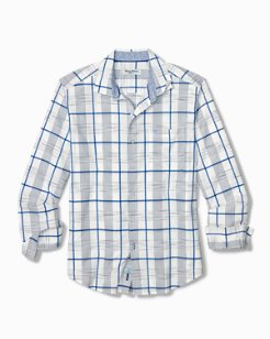 Big & Tall Pirae Plaid IslandZone® Shirt