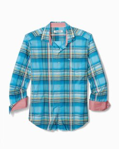 Big & Tall Palau Plaid IslandZone® Shirt
