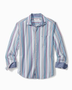 Big & Tall Ensenada Stripe IslandZone® Shirt