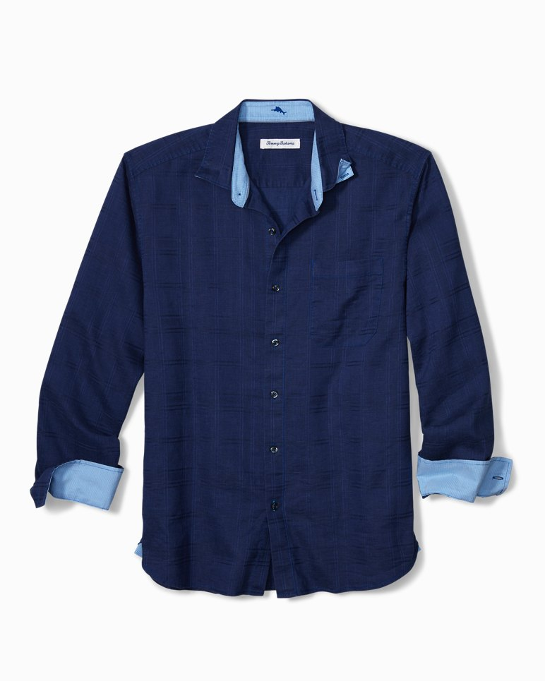 Main Image for Big & Tall Costa Tautira Stretch-Linen Shirt