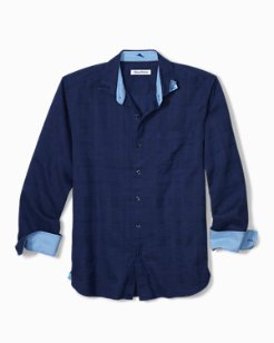 Big & Tall Costa Tautira Stretch-Linen Shirt