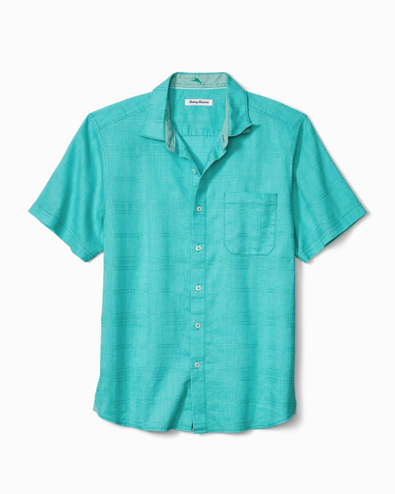 Main Image for Big & Tall Costa Tautira Stretch-Linen Camp Shirt