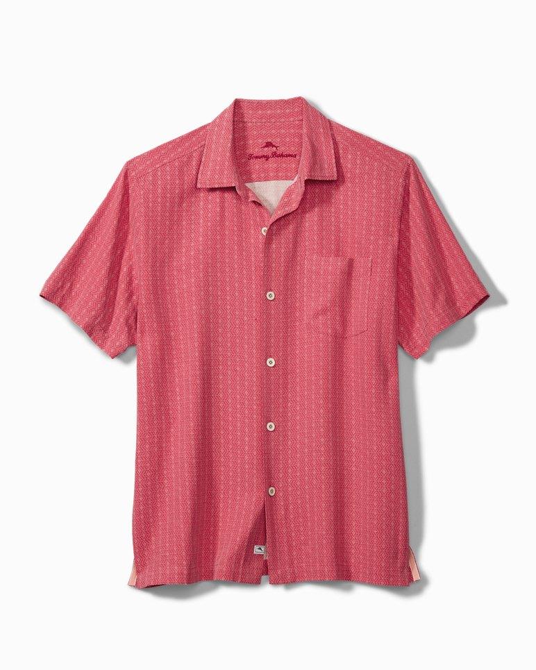 Main Image for Big & Tall Dimensional Diamond Camp Shirt
