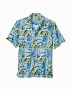 Big & Tall Think Outside The Fronds Camp Shirt