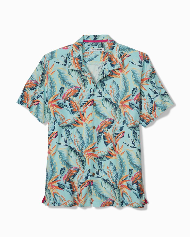 Main Image for Big & Tall Break Wave Fronds IslandZone® Camp Shirt