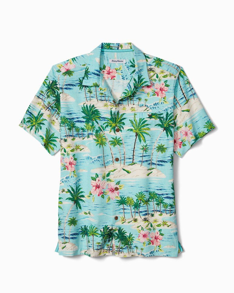 Main Image for Big & Tall Aloha Surf IslandZone® Camp Shirt