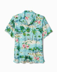 Big & Tall Aloha Surf IslandZone® Camp Shirt