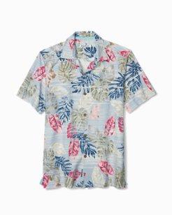 Big & Tall Botanica Sketch IslandZone® Camp Shirt