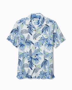 Big & Tall Wallis Tropics IslandZone® Camp Shirt