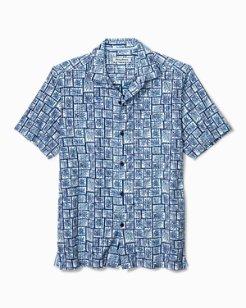 Big & Tall Tonga Tiles Camp Shirt