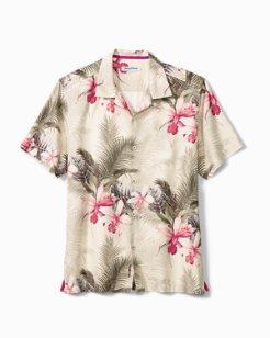 Big & Tall Shadows In Paradise IslandZone® Camp Shirt