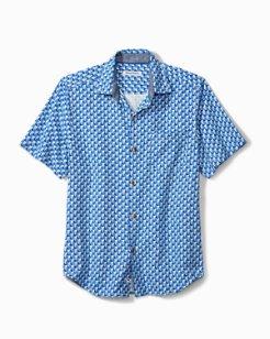 Big & Tall Printed Away Camp Shirt