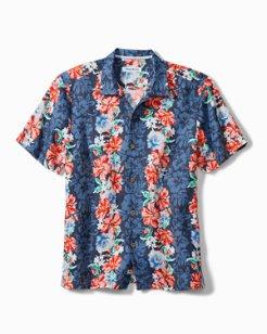 Big & Tall Garden Row Camp Shirt