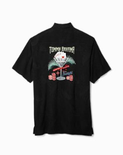 Big & Tall Drinking Doubles Camp Shirt
