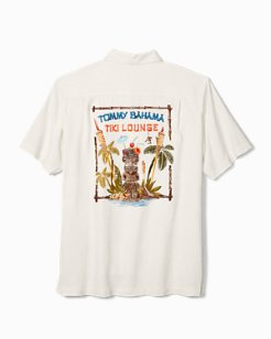 Big & Tall Tiki Lounge Camp Shirt