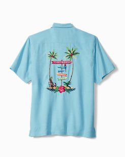 Big & Tall Live The Island Life Camp Shirt