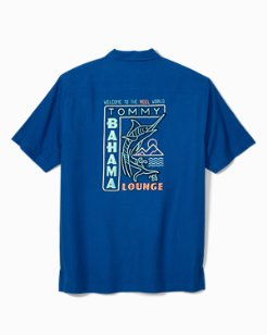 Big & Tall Welcome To The Reel World Camp Shirt