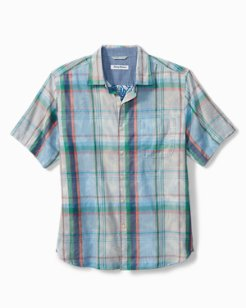 Big & Tall Fronde Dei Marmi Camp Shirt