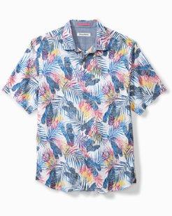 Big & Tall Pavia Palms Camp Shirt