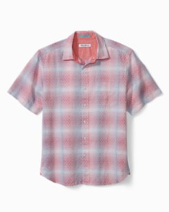Big & Tall Ravenna Plaid Camp Shirt