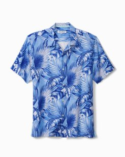 Big & Tall Forte Fronds Camp Shirt