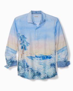 Big & Tall Forte Dei Marmi Seas Linen Shirt