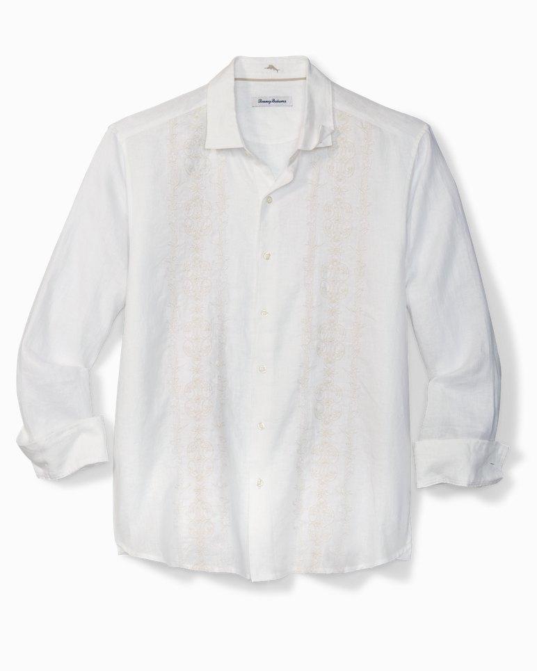Main Image for Big & Tall Verona Vines Embroidered Linen Shirt