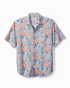 Big & Tall Florence Flora Camp Shirt