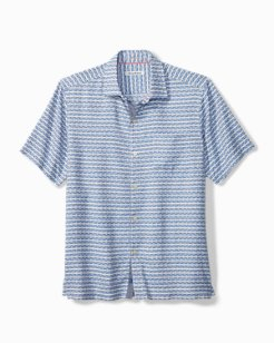 Big & Tall Geovanni Geo Camp Shirt