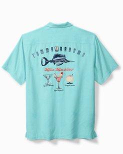 Big & Tall Marlin Mix Camp Shirt