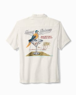 Big & Tall Martini Time Out Camp Shirt